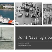 collage of naval images